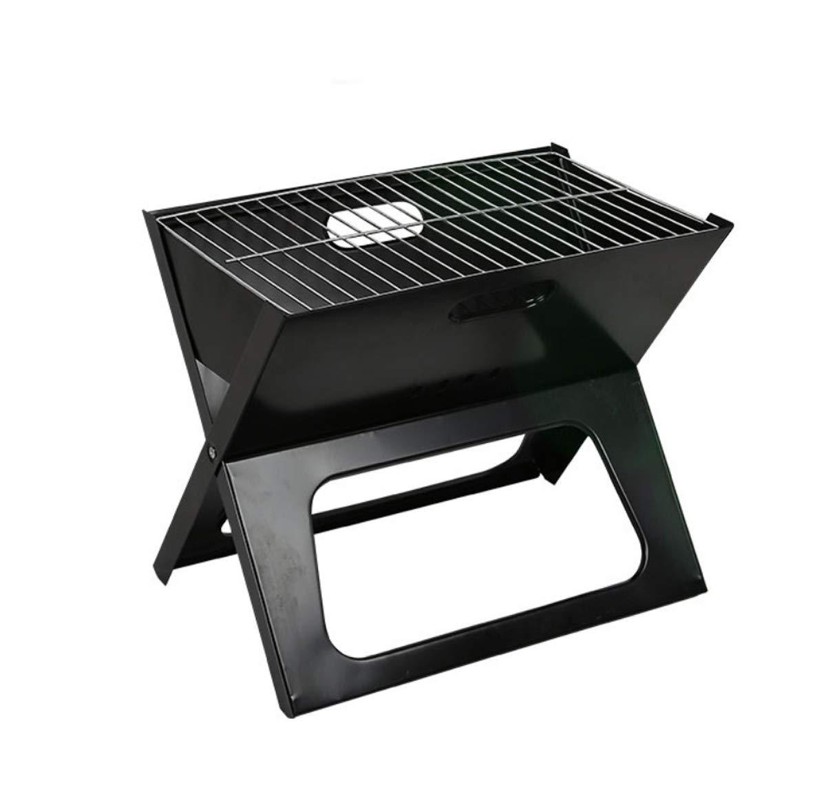 ZXMXY BBQ Grill Klapp Outdoor X-Förmige Klapp Grill Grill Bequeme Grill-Notebook-Stil Grill 44  29  36,5 (cm) dc3fe8