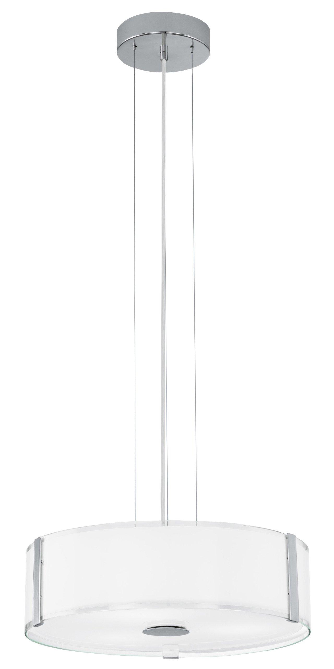 Eglo 91255A Varano Pendant Light, Chrome