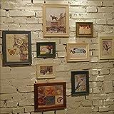 LQQGXL Multi-frame set, a large photo frame set, the best wall decoration Photo frame