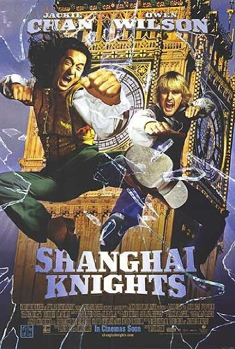 Shanghai Knights Movie Poster Double Sided Original 27x40