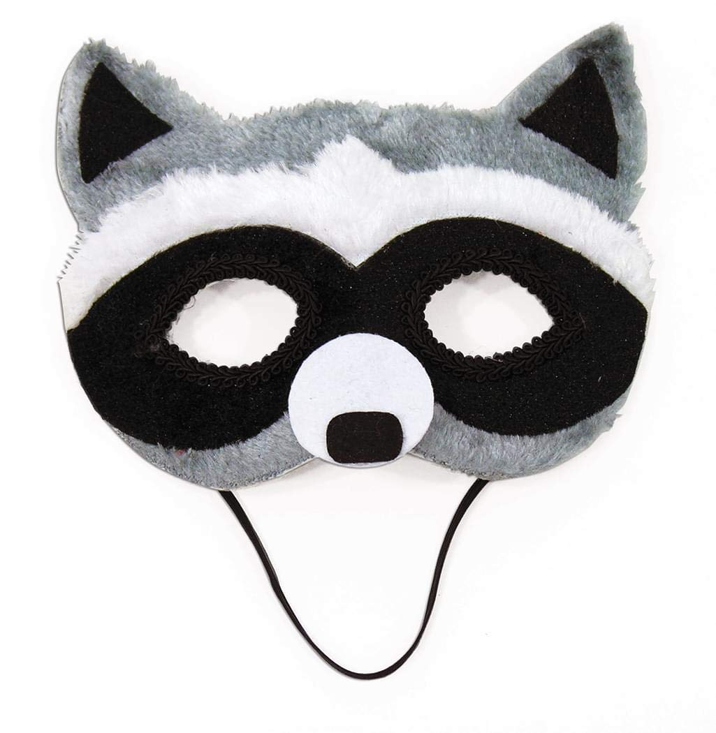 Childrens Animal Critter Forest Half Mask Costume Accessory