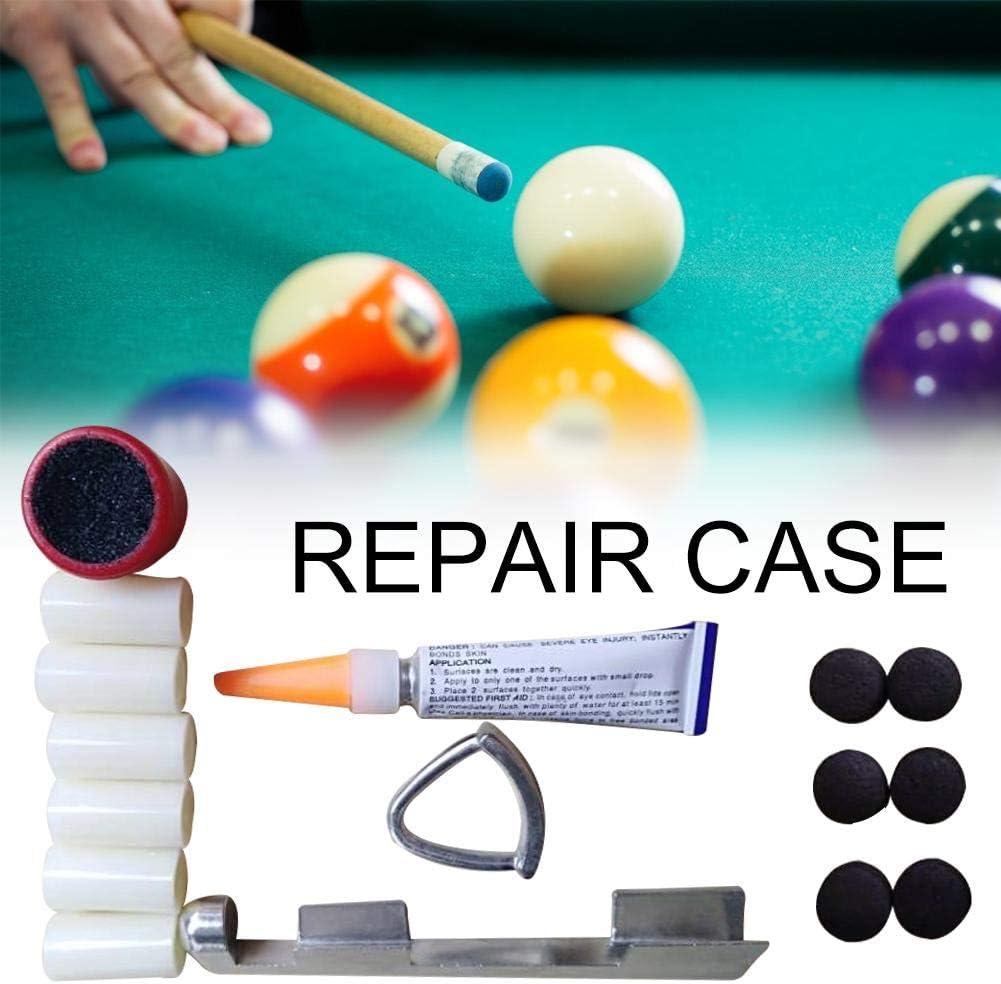 xiangpian183 Billar/Pool/Snooker Tip Kits de Herramientas de ...