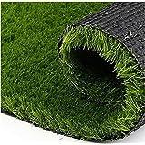 Yellow Weaves Artificial Grass Polypropylene Carpet Mat for Balcony, Lawn, Door (Green, 6. 5 X 5 Feet)