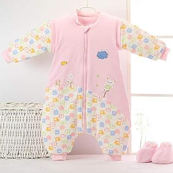 El Algodón Del Bebé Anti-Patea Es Saco Desmontable De La Pierna Que Duerme El