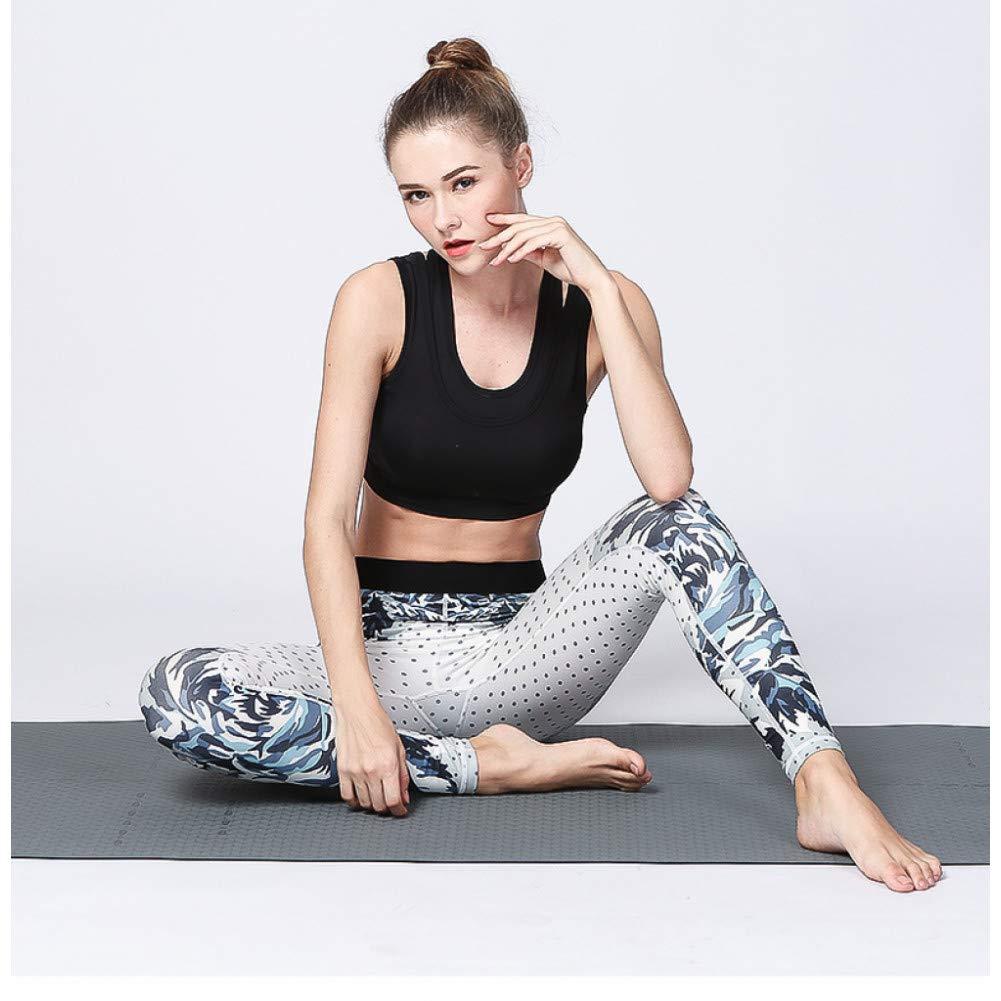 YUYOGAP Damen Leggings Yogahosen Fitness Trainingshosen Laufhosen Druck Schnelltrocknende Stretch Outdoor Sportbekleidung Mädchen Yoga Anzug