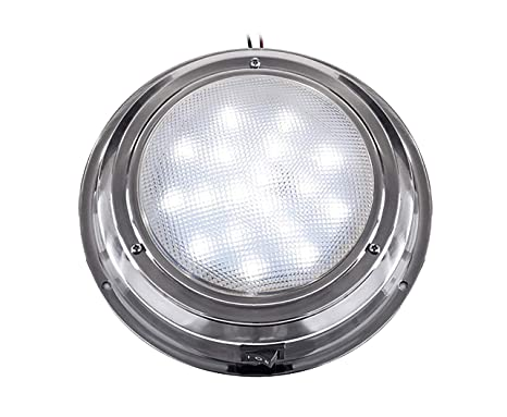 amazon com advanced led stainless steel interior dome lights for