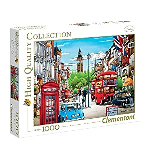 Clementoni London High Quality Collection Puzzle 1000 Pezzi 39339