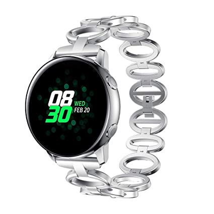Amazon.com: Cywulin Compatible Samsung Galaxy Watch Active ...