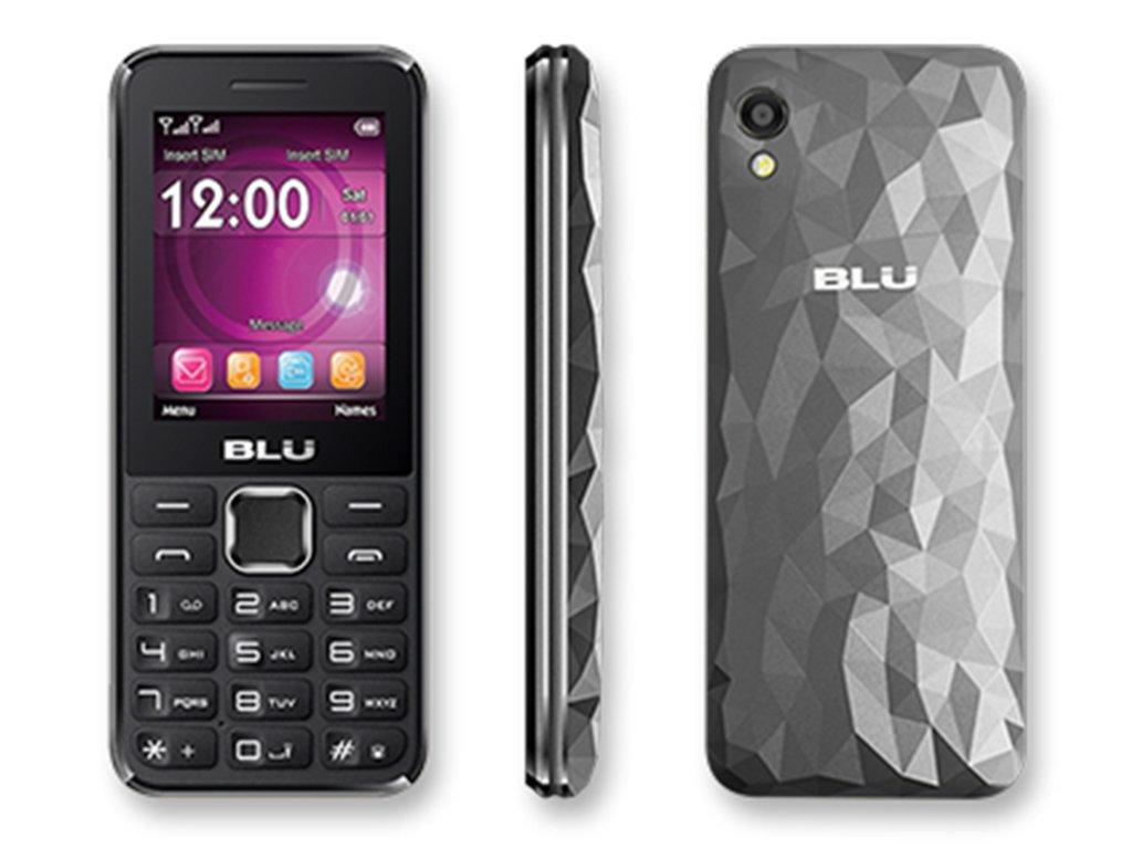 BLU Tank 3 - GSM Unlocked Dual Sim Cell phone with 1,900 mAh Battery -Grey