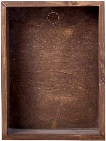 Vinobarto Loke - Caja para corchos - Hermosa Caja de Madera rústica para Tus corchos para un Aspecto de viñedo a la Pared: Amazon.es: Hogar