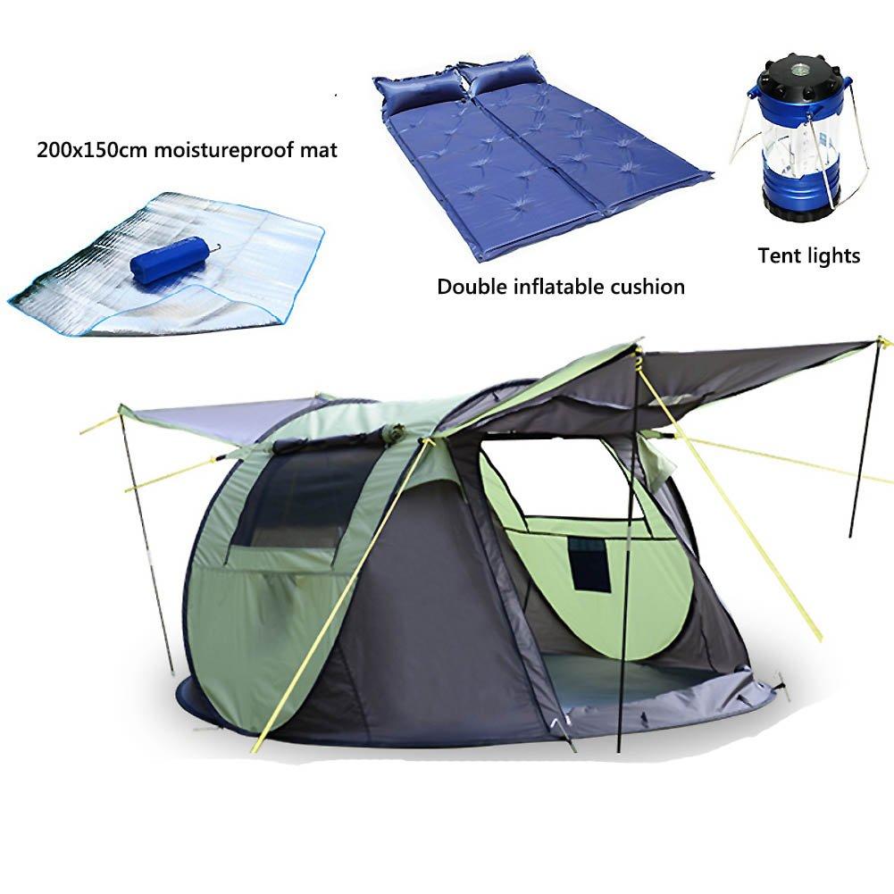 Outdoor-automatische Zelt, Zelt Für 2 Personen Camping Zelt Anti-aufstand Regen 1 Sekunde Geschwindigkeit Offen Freien Build Mit Großen Öffnungen Kuppelzelte