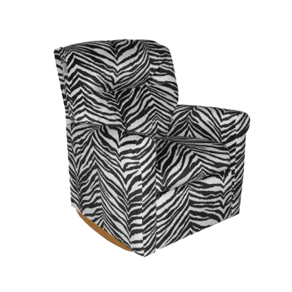 Child Rocker Recliner - Contemporary Zebra DZD12067