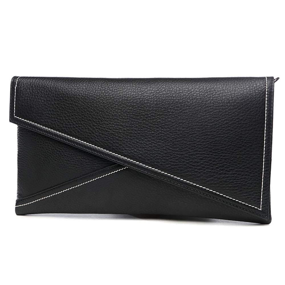 JIEPAI Ledertasche Tasche Temperament Clutch Bag Personalisierte Mode Damen Tasche GroßRaumumschlag Tasche Damen Aufbewahrungstasche