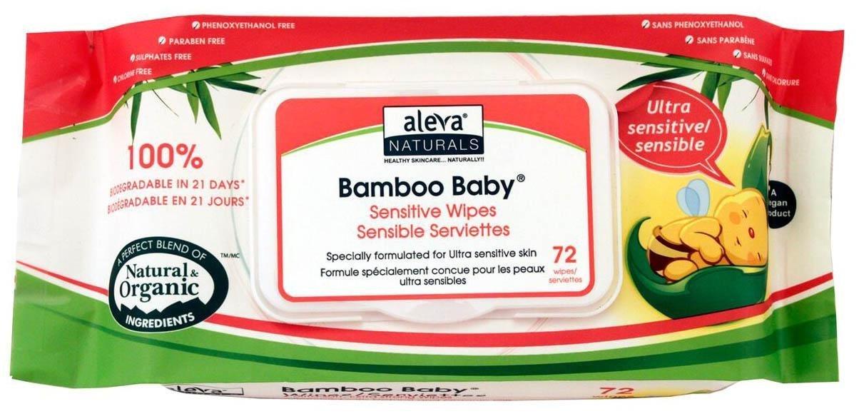Aleva Naturals Naturals Bamboo Aleva Baby Sensitive Sensitive Wipes - Unscented - 72 ct by Aleva Naturals B007A4NE7A, 美容と健康の専門店 美健ショップ:0f2771d2 --- ijpba.info