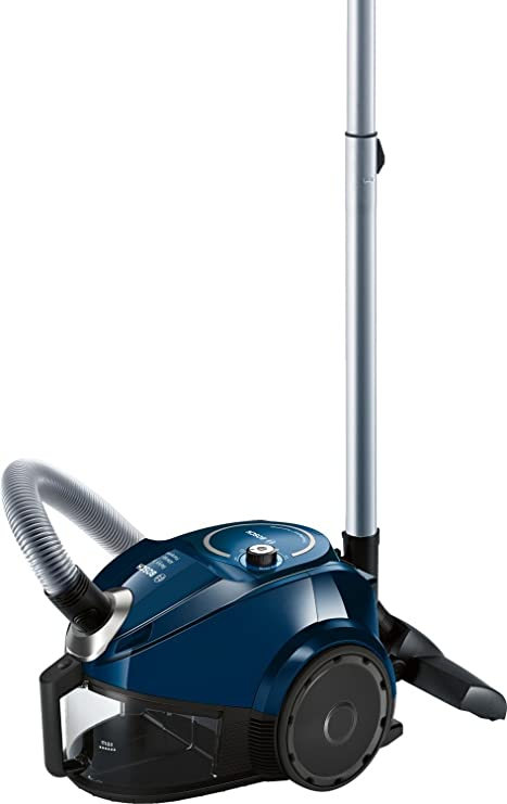 Bosch BGC3U130 - Aspiradora (600 W, 28 kWh, Aspiradora cilíndrica, Sin bolsa), color azul: Amazon.es: Hogar