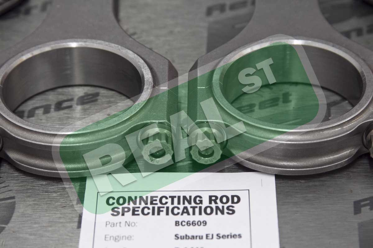 Brian Crower BC6609 Connecting Rod Subaru EJ205-EJ257-5.141-Brod with ARP2000 Fasteners