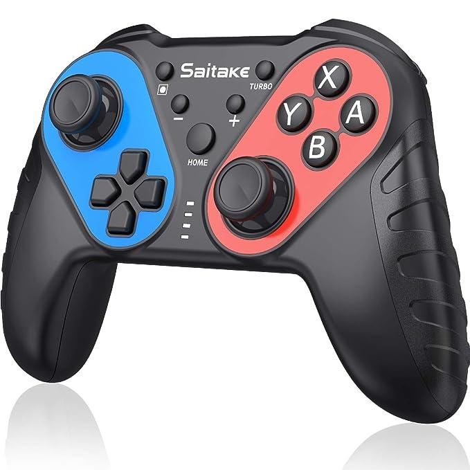 20 opinioni per BEBONCOOL NFC Controller per Nintendo Switch con Amiibo Wireless Joystick per