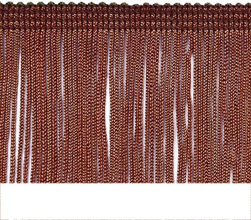 Chocolate Expo International 2-Inch Chainette Fringe Trim Embellishment 20-Yard