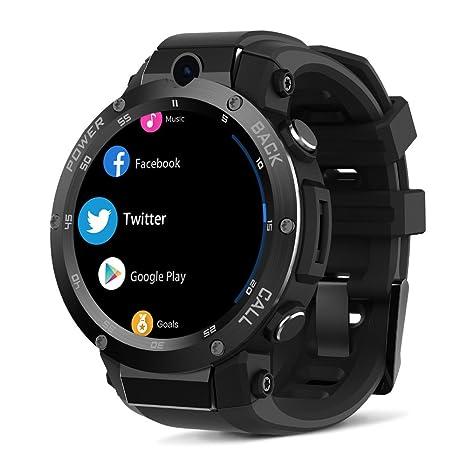 BDFA Relojes Inteligentes para Hombres, Android 5.1OS 3G Reloj Inteligente 1.3Ghz Quad Core