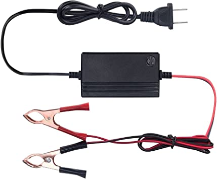 1.2A Trickle Charger for car 12V to 14.8V Automatic Lead Acid Battery Charger//Maintainer Truck Lawn Tractor Boat RV Motorcycle