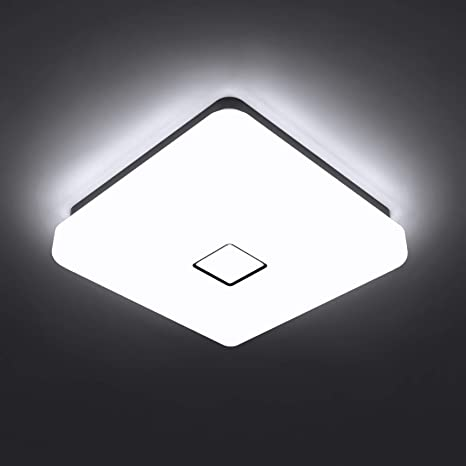 Onforu 24W LED Plafón Lámpara de Techo, 90 Ra IP65 ...