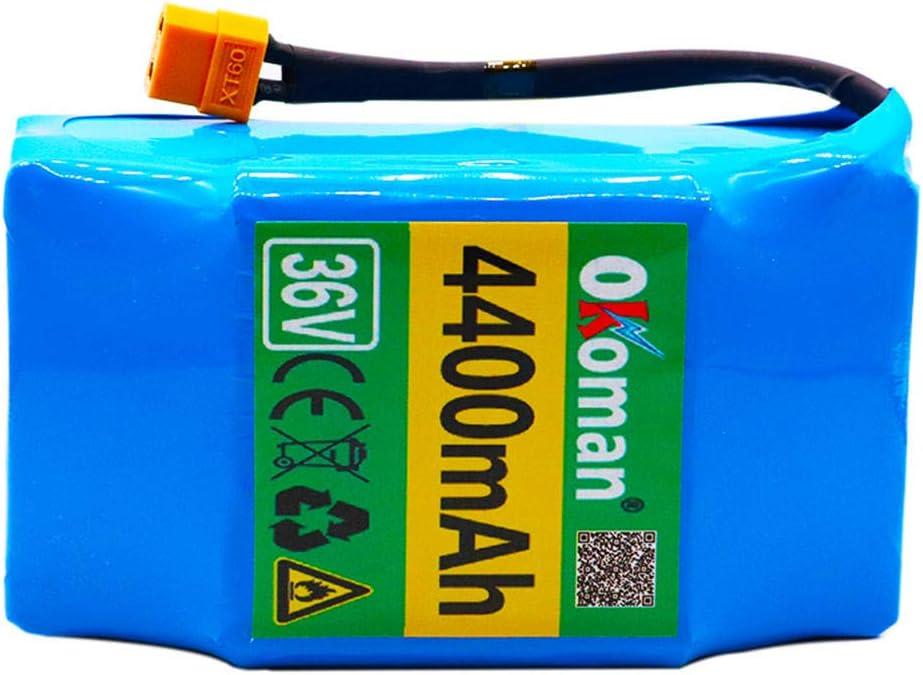 36V 4.4ah 10S2P batería de Iones de Litio Recargable de Iones de Litio para Monociclo eléctrico de Auto Equilibrio Scooter Hoverboard