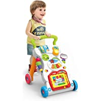 Happy GiftMart Children Walker with Music Lights and Fun Developmental Activities for Kids Muscial Multi Color.