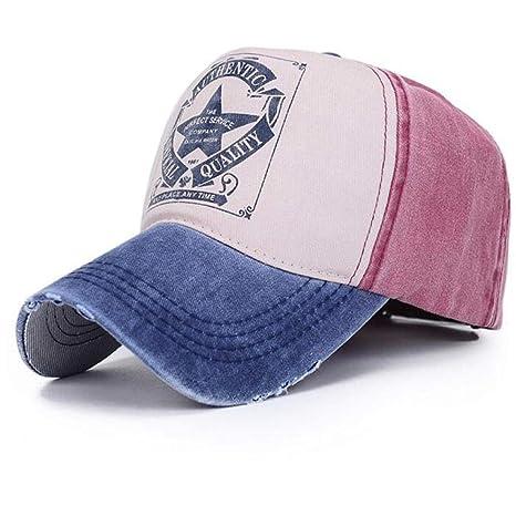 YanLong Pareja Sombrero de Cinco Estrellas Carta Gorra de béisbol ...