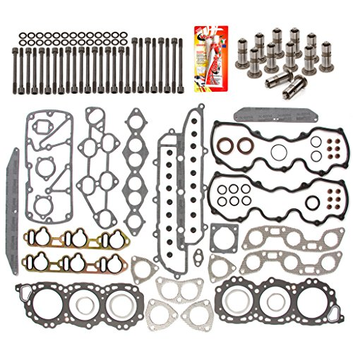 Domestic Gaskets HSHBLF3009 Lifter Replacement Kit fits 84-86 Nissan Maxima 300ZX 3.0 SOHC 12V VG30 Head Gasket Set, Head Bolts, Lifters