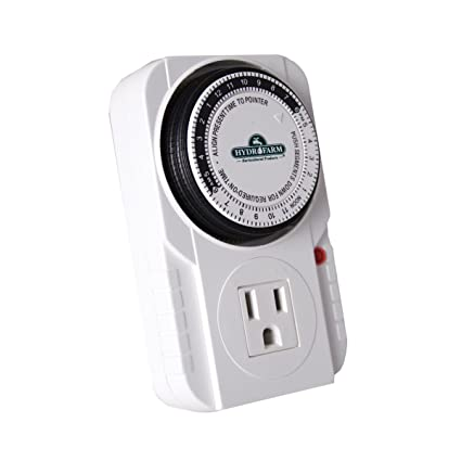 Autopilot TM01015 Analog Grounded Timer, 1725W, 15A, 15 Minute On/Off, 24  Hour15 Grounded Timer, 15 Amp, 1725 Watt