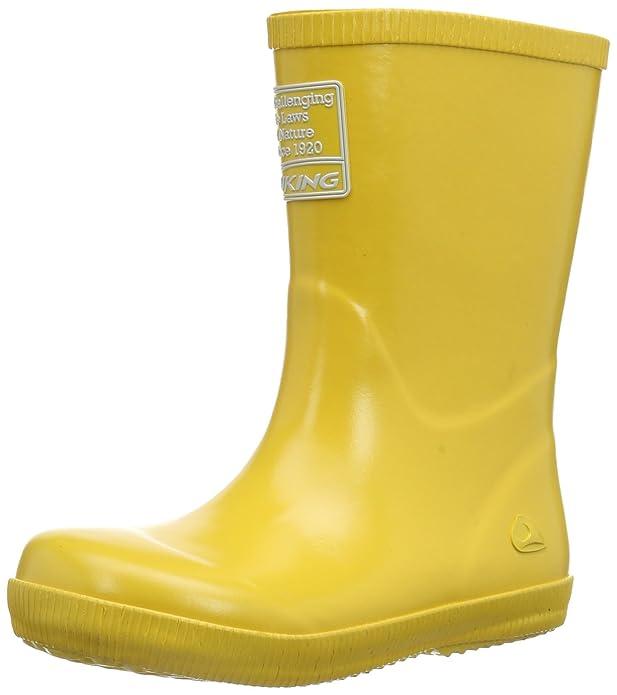 Viking Kids Jolly Winter Gelb, Kinder Winterstiefel, Größe EU 35 - Farbe Yellow
