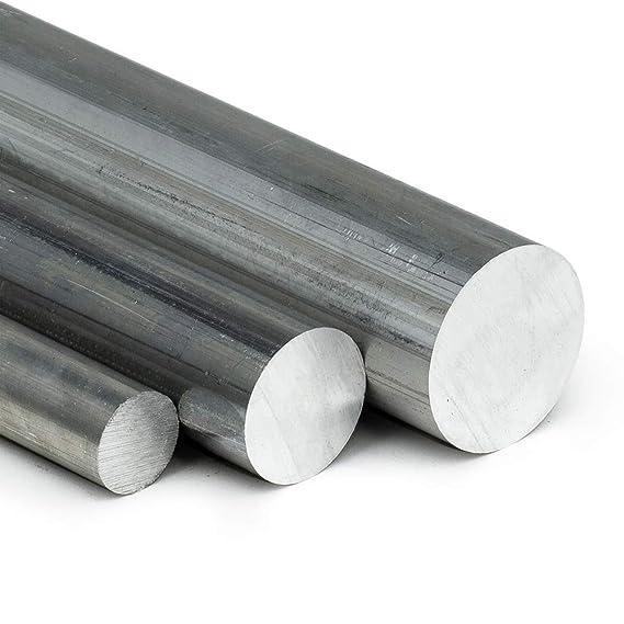 GAH-Alberts 488147 Rundstange natur 1000 x 12 mm Aluminium