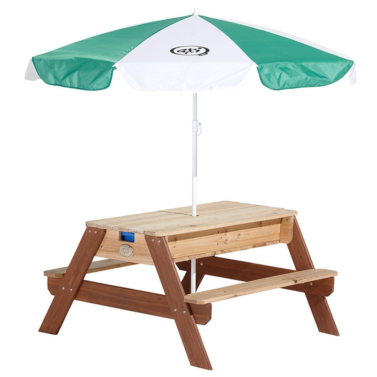 Matschtisch Holz - Axi Nick Wassertisch, Sandtisch, Picknicktisch