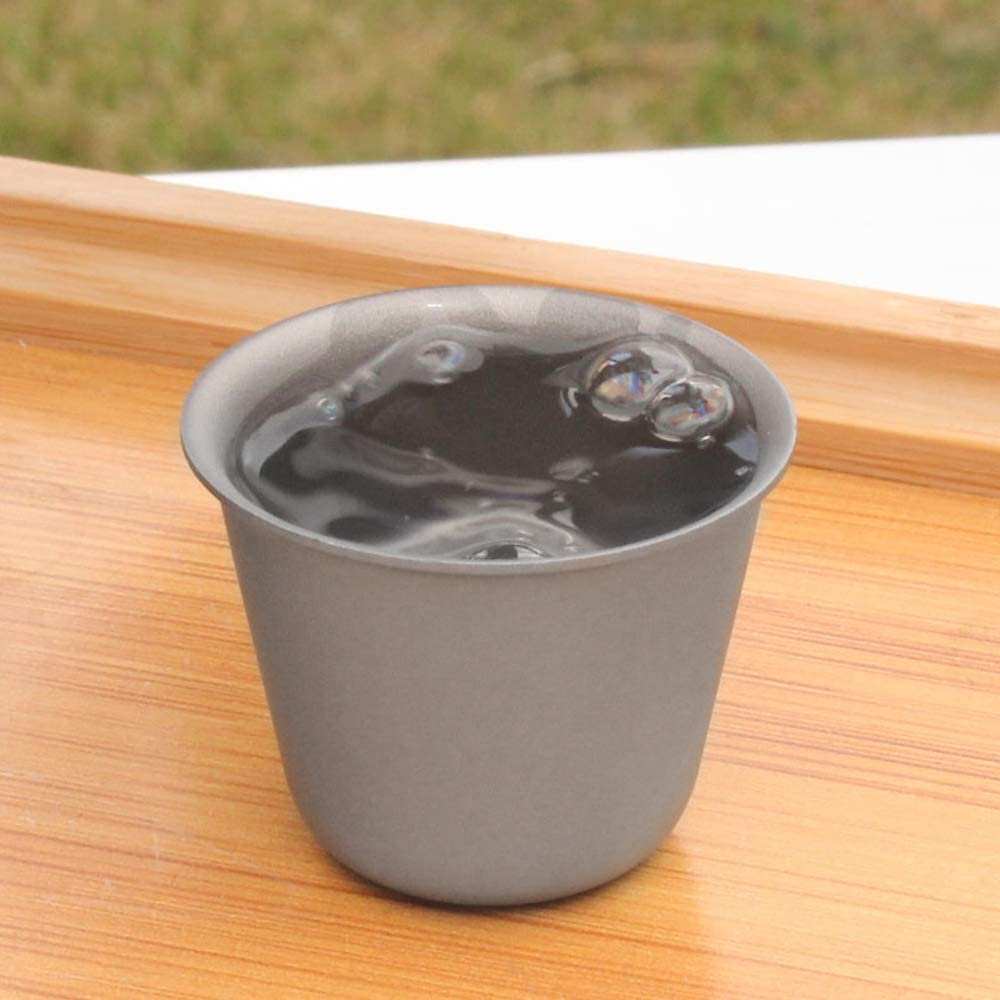 Drinkware Picknick-Party Explopur Titan Cup Anti-gebrochen Cup 1ST/ÜCKE // 2 ST/ÜCKE // 3 ST/ÜCKE Optional Outdoor Camping Wein Teetasse