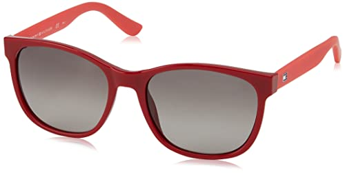 Tommy Hilfiger TH 1416/S HA, Gafas de Sol Unisex-Adulto, Red Coral, 54