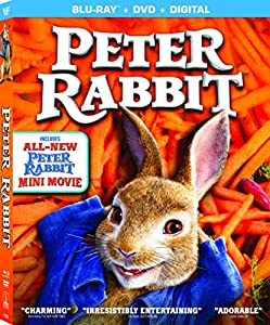 Cover Image for 'Peter Rabbit [Blu-ray + DVD + Digital]'