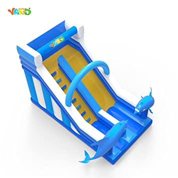 Amazon com: YARD Commercial Inflatable Water Slides PVC