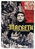 Macbeth Framed Poster Movie French 11 x 17 Inches - 28cm x 44cm Maurice Evans Judith Anderson Michael Hordern Ian Bannen