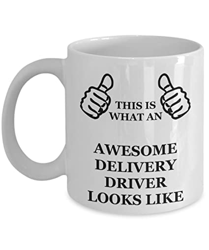 Funny Birthday Gifts For Delivery Driver Wife Husband Mom Dad Friend Coworker Daughter Son Parents Women