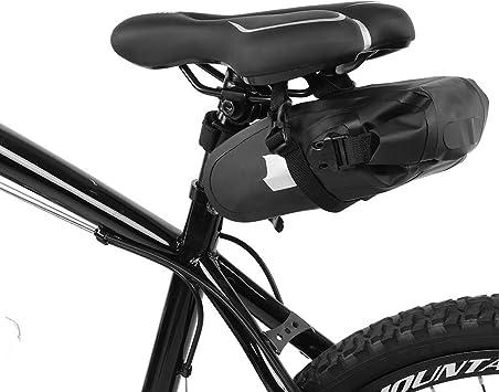 LECHI - Bolsa para sillín de Bicicleta, Impermeable, para Bicicleta ...