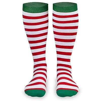 Knee High Half Cushioned Athletic Running Sock