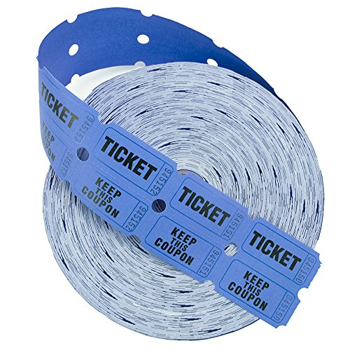 two part raffle tickets