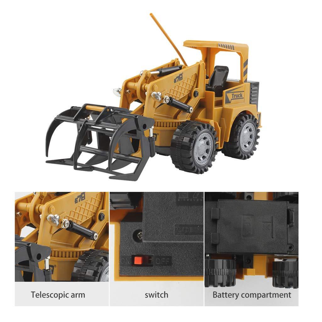 Amazon.com: Showez - Camión de construcción con control ...