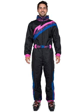 Amazon.com  Men s Night Run Ski Suit  X-Large Black  Clothing 0022d6ade