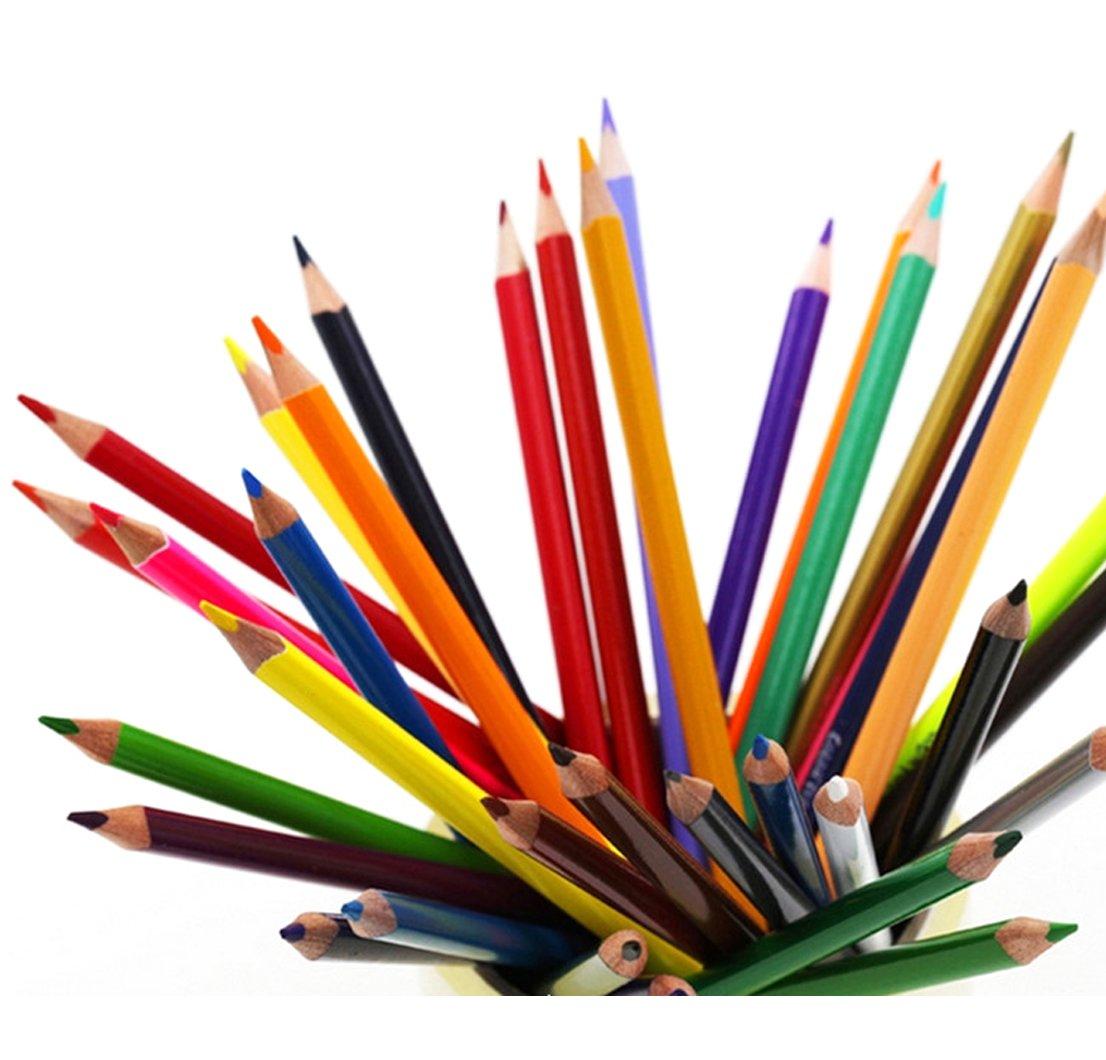 babyprice madera de colores lápiz Soluble en agua Color plomo arte pintura dibujo batidoras Sets 24/36 Color: Amazon.es: Oficina y papelería
