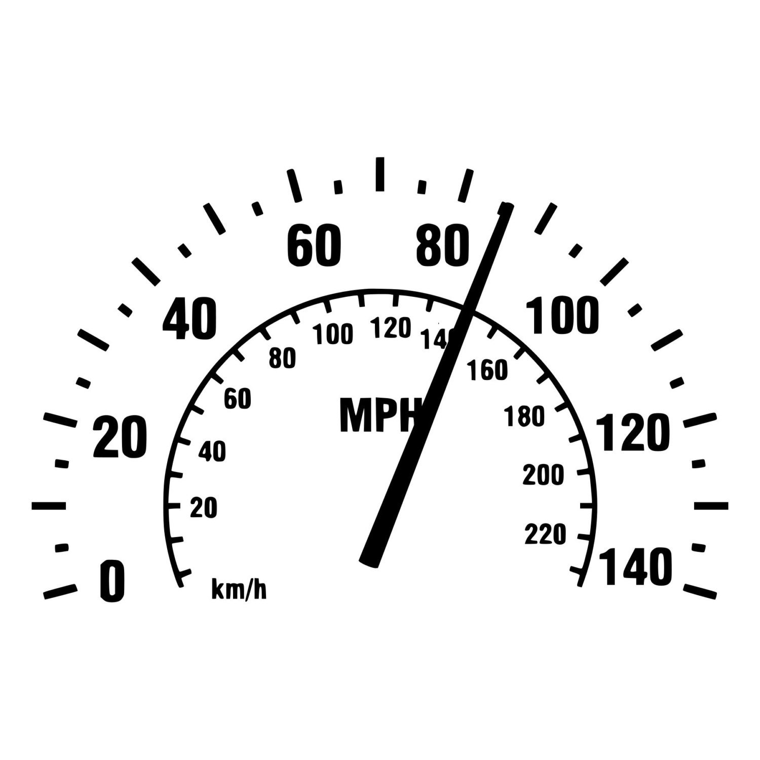 Amazon com speedometer sticker decal for car window wall bumper phone laptop die cut vinyl speedometer decal home kitchen
