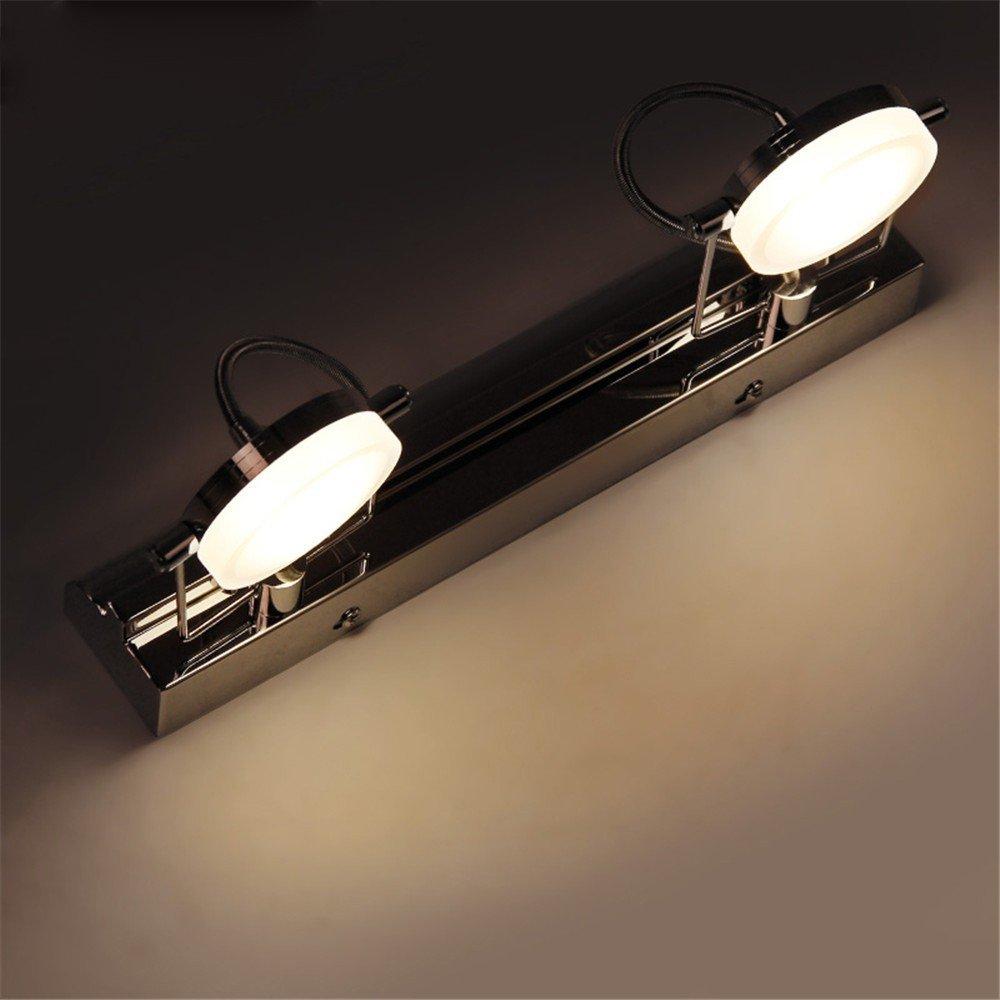 Anbiratlesn Modern Wandleuchten E27 Antik Wandlampe Vintage Rustikal Wandlampe für Schlafzimmer Wohnzimmer Bar Flur Badezimmer Küche Balkon Innen Lampe Anti-Fog Spiegel Front-LED-Bad Wandleuchte