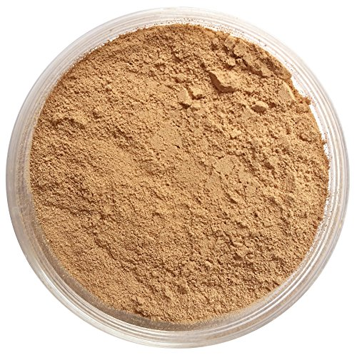 Nourisse Natural 100% Pure Mineral Foundation Sunscreen Powder, 50+ SPF (Medium/Natural) / Sensitive Skin Sunscreen