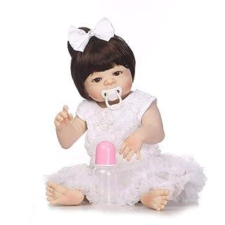 Bambola in Silicone Morbido da 21 Pollici Bambola realistica Fatta a Mano Simulazione Toddler Bamboletta Neonato in Fase di rinascita Non tossica Giocattoli Formulaone