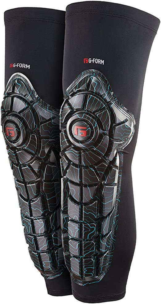 G-Form Elite Unisexe Adulte genou Shin Guard Pad Protecteur-xlg-noir Topo
